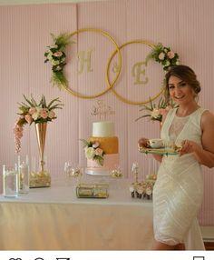 Decoration for civil wedding ceremony Engagement Decorations, Diy Party Decorations, Bridal Shower Decorations, Reception Decorations, Vintage Decorations, Diy Wedding Reception, Diy Wedding Backdrop, Diy Backdrop, Disney Bridal Showers