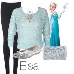 I want Elsa clothes. Love the shirt and pocketbook