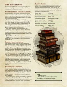 Quest for Glory's Adventurer's Correspondence School Graduate background by Maclimes