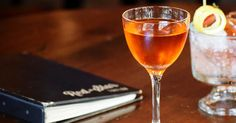 Coat the inside of a coupe or Nick & Nora glass with absinthe, remove the excess, and set aside.Add the infused Aperol, Lillet and rhubarb bitters to a mixing glass with ice, and stir until …