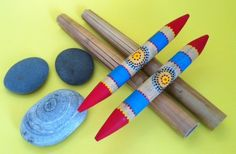 """""""All Natural Percussion"""" -  How world cultures use sticks, stones and bamboo reeds as musical instruments"""