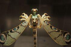 Dragonfly Lady Brooch
