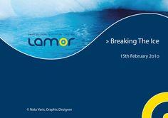 Frontslide. Lamor, 2010. Natasha Varis, Graphic Designer. – http://www.lamor.com/fi/