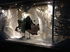 Anthropologie Holiday Display: Windows on the RISD Portfolios