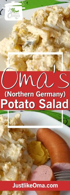 Learn how to make potato salad that tastes so much like that German potato salad made my your Oma. It's great for picnics, suppers, and potlucks too. Wunderbar!