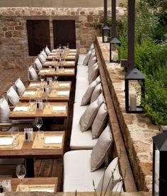 Dining - La Bandita Townhouse in Pienza, Italy