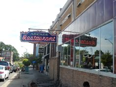 Arcade Restaurant - the first ever restaurant in Memphis Tennessee