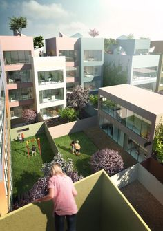 Urban Hybrid Housing Winning Proposal,© MVRDV