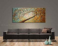 Painting Spring Kissed Peaceful Painting Oil Palette by Artcoast