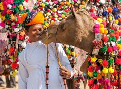 Mythological space at the pushkar camel festival india points of interest