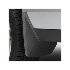 Yukon Denali XL Splash Guards, Rear Molded, Black Grain: Keep tire splash and mud off your vehicle with these rear molded guards.