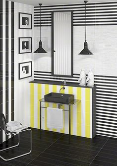 INUIT  are wall tiles, from the FUSIÓN collection, perfect for your bath.   VIVES Azulejos y Gres S.A.