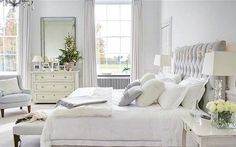 Love this room very peaceful. Beautiful light grey walls
