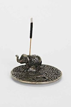Metal Elephant Incense Holder - Urban Outfitters