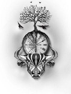 64 ideas tattoo ideen sternzeichen stier - + TATTOO`S + - Legend Photo Natur Tattoos, Kunst Tattoos, Body Art Tattoos, Small Tattoos, Sleeve Tattoos, Tattoo Life, Ox Tattoo, Horoscope Tattoos, Zodiac Sign Tattoos