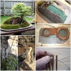 diy project: how to make a toy tree house | trees, toys and fairy tree, Garten und erstellen