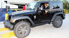 Kobe Bryant Call of Duty: Black Ops Jeep Wrangler