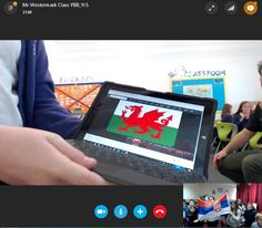 Ana Živković @teacherka Enjoyed playing #mysteryanimal with @YBB_Yr5 in Wales, UK - only 1638 miles by car @Microsoft_EDU @SkypeClassroom #SkypeaThon