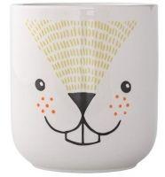 This cute porcelain flower pot is part of the Bloomingville Mini range - a range. This cute porcel Web Paint, Kids Collection, Deer Print, Decoration Design, Kids Decor, Home Crafts, Flower Pots, Diy Gifts, Pattern Design