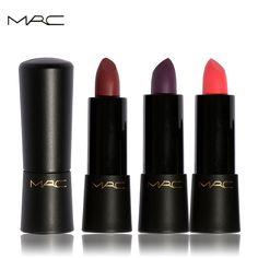 MRC Brand Lipstick Moisturizing Lipstick Rouge Waterproof Lasting Beauty Ruby Woo Lips Matte Colors Magic Changing Lips