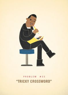 Jay Z's 99 Problems,illustrated, via little t.