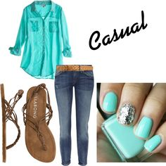Casual, created by kayleigh-causey on Polyvore