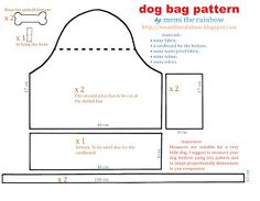 ARTE COM QUIANE - Paps,Moldes,E.V.A,Feltro,Costuras,Fofuchas 3D: Molde Bolsa para transportar cachorrinho