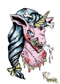 Zombie Unicorn....