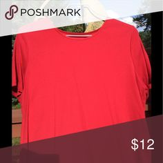 Red Dress T-Shirt Nice t-shirt from C. J. BANKS. A very nice shade of red. Not too bright! Length 26', Width under arms 22 1/2'. C. J. BANKS Tops Tees - Short Sleeve