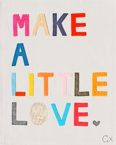 MAKE A LITTLE LOVE SINGL BIG-7