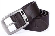 Marcas Faux Leather Pin Buckle Belt