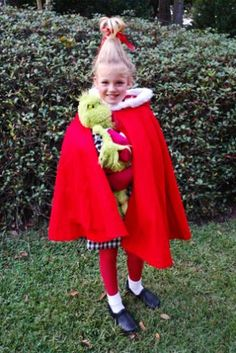 Cindy Lou Who Costume - Submitted by Neva Clark