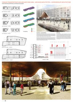 Bustler: Three Entries Share First Prize in Istanbul's Yenikapı Design Competition