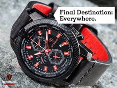 Grab your stuff and let's go! About time to explore the world. The DISCOVERER jumps through the worldtime with a single button press. He always dreams big.  Discover the DISCOVERER: http://amzn.to/2bbEMyt @todayswatchfashion,