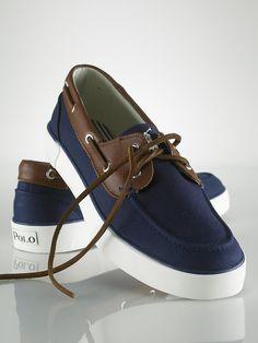 Rylander Canvas Boat Shoe - Sneakers Shoes - RalphLauren.com
