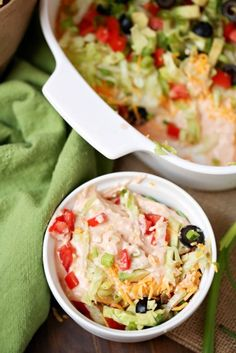 Weight Watchers Taco Dip 3 PointsPlus