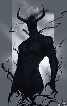 Morokh, the Hollow King and the Overlord of Darkness. Monster Concept Art, Fantasy Monster, Monster Art, Dark Fantasy Art, Fantasy Artwork, Creature Concept Art, Creature Design, Arte Horror, Horror Art