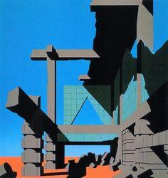 Arata Isozaki, Tsukuba Center in Ruins, 1983