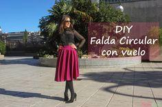 DIY Falda circular con vuelo (Parte I) ~ Sara's Code: Blog de Costura + DIY