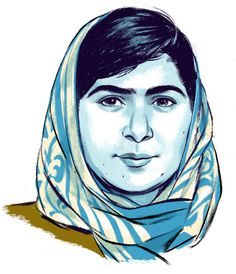"""""""Malala Yousafzai: By the Book"""" via NYTimes. If only 1/3 of the students in my English classes brought this type of mindfulness to class, the whole school would be transformed. A thoughtful & insightful discussion w/a young woman truly interested in learning."""