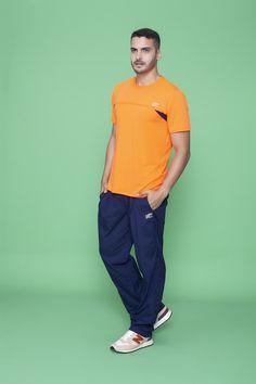 Camiseta running 110088 e Calça tactel 170074*