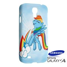 Rainbow Dash Cutie Samsung Galaxy S4 S IV Hardshell Case Cover - PDA Accessories