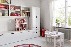 Мебель серии Стува в интерьере детской