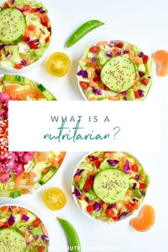 What is a nutritarian?  Learn all about  Dr. Fuhrman's Eat to Live diet and what makes it different from a typical vegan diet.  Click through for free printables on the whole food plant based no oil, low-sodium, nutritarian plan!  Learn why this diet keeps you so full and you can eat so much food--forget about calorie counting and count nutrients instead!  xo, Kristen #drfurhman #eattolive #nutritarian #wholefoodplantbased #wfpbno