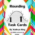 Included are 20 matching rounding task cards. They included word problems and simple numbers to match with the correct answer. Students will practi...