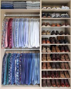Closet goals @thepacman82   Pages to upgrade your style  @stylishmanmag  @shopthatgrid