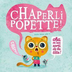 Carte Chaperlipopette + enveloppe - Editions de mai - 14 x 14 cm - Bureau/Carterie - espritlogis-fr