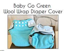 Wool Diaper Cover...PDF Pattern by DapplesAndGrays on Etsy