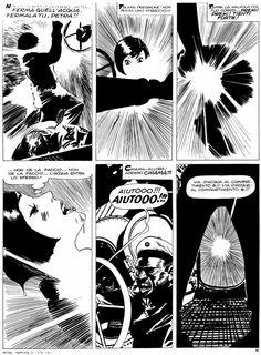 """Attilio Micheluzzi - Petra Chérie - Tempesta di notte. Pubblicata su """"Il Giornalino"""" n°17, 27 aprile 1980."""