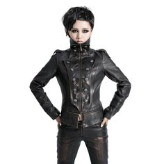 Free-shipping-Punk-women-s-gothic-punk-military-dovetail-leather-clothing.jpg_640x640.jpg (640×640)
